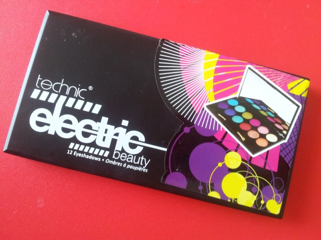 palette technic electric beauty