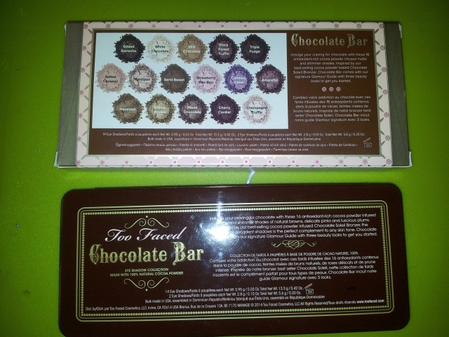 Choccolate Bar Too Faced