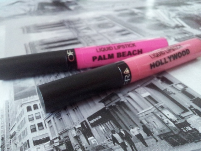 long lasting liquid lipstick ofra cosmetics palm beach hollywood