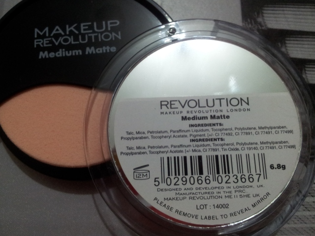 makeup revolution bronzer medium matte london low cost