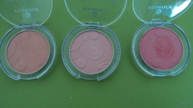 essence silky touch blush 10, 30, 60, life's a cherry, adorable, secret it-girl