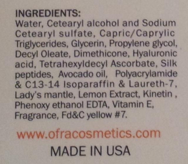 OFRA silk-c peptide serum