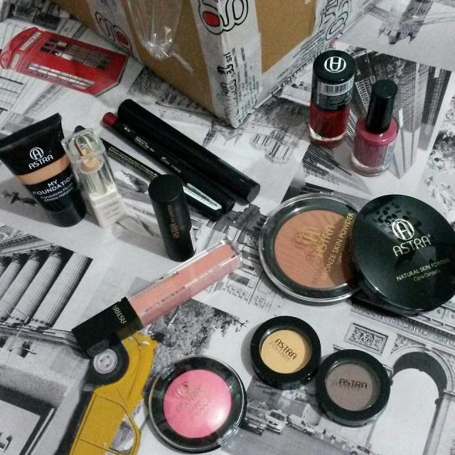 astra makeup collaborazione