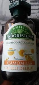 antica erboristeria camomilla shampoo