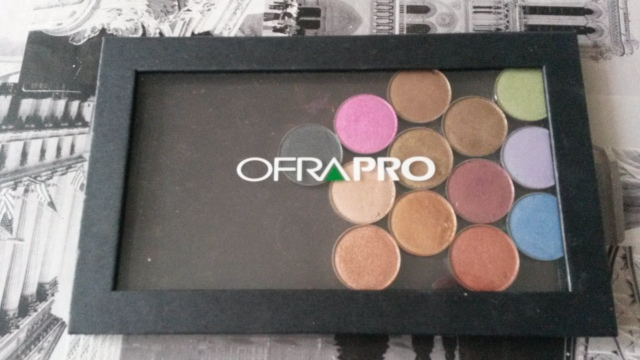 ofra cosmetics laboratiories diamonds are forever palette