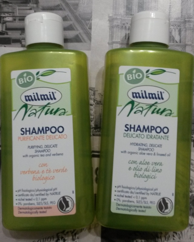 milmil shampoo
