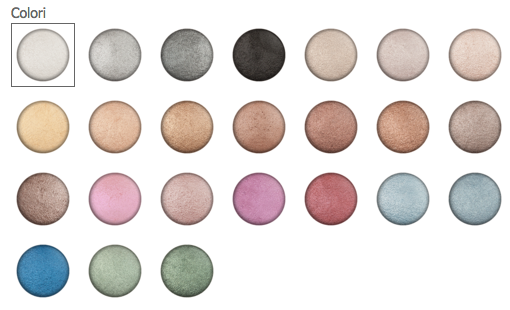 Anika Makeup Clear Eyeshadow Colori