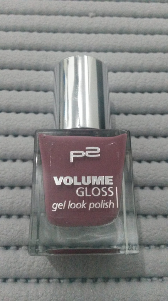 p2 cosmetics volume gloss