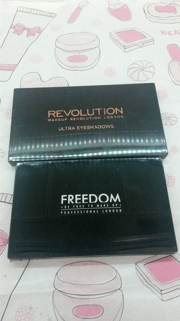 Makeup Revolution vs Freedom Makeup
